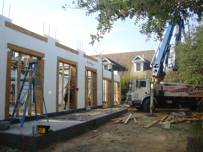 Icf Insulated Concrete Form Home Builder Mccory